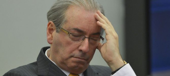 Cunha é preso em Brasília